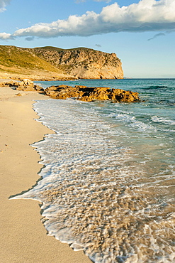 Albarca sand,, arenalet des Verger-, Llevant Natural Park, Arta. Mallorca, Balearic Islands, spain.