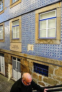 birthplace of writer Mario tacito Pinto Ribeiro, Gouveia, Serra Da Estrela, Beira Alta, Portugal, Europe