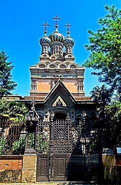 Florence, Orthodox Church, Entrance, UNESCO World Heritage Site, Tuscany, Italy.