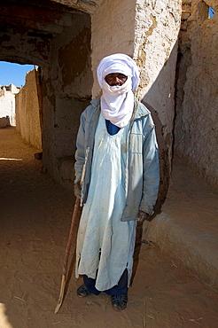 Tuareg, Portrait, Ghat, Libyan Arab Jamahiriya.