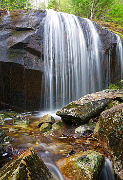 Kinsman Notch, Tributary of Lost River in Woodstock, New Hampshire USA during the spring months.