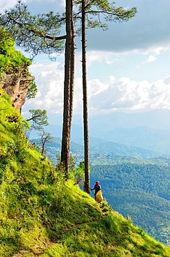 Himalayan range, Almora, Uttarakhand, India.