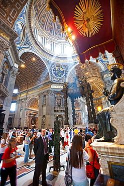 Saint Peter¥s Basilica, Vatican City, Rome, Lazio, Italy