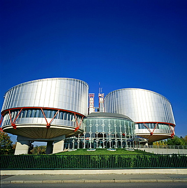 European Court of Human Rights Strasbourg Alsace France.