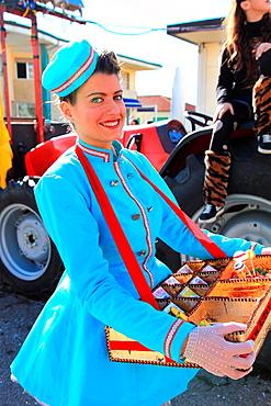 Carnival, Viareggio, province of Lucca, Tuscany, Italy