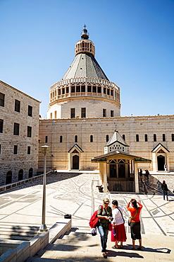 The Annunciation church, Nazareth, lower Galilee region, Israel.