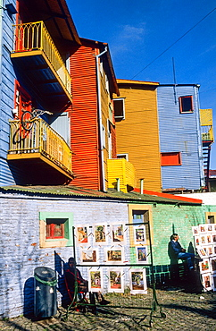 Caminito street. Boca district. Buenos Aires. Argentina