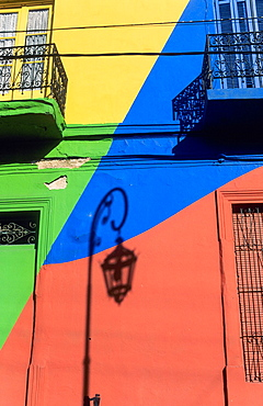 Caminito street. Boca district, Buenos Aires. Argentina