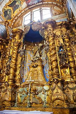 Cathedral, Pelourinho, Salvador, Bahia, Brazil.