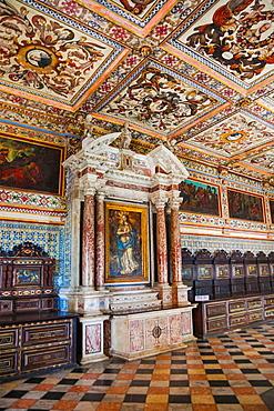 Sacristy, Cathedral, Pelourinho, Salvador, Bahia, Brazil.