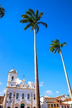 Sao Pedro dos Clerigos chuch, Pelourinho, Salvador, Bahia, Brazil.