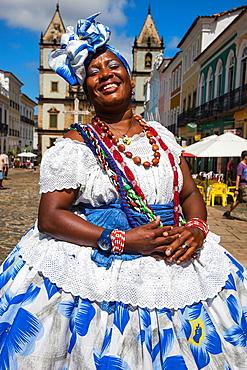 Bahiana in Pelourinho, Salvador, Bahia, Brazil