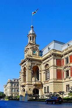 Azerbaijan, Baku City, Executive Power Bldg. (City Hall Bldg.).