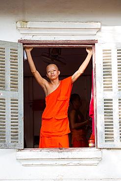 Wat Nong Sikhounmuang in Luang Prabang, Laos.
