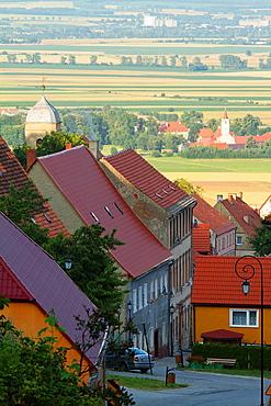 Srebrna Gora (german Silberberg) a small topwn in Lower Silesia region. Poland.