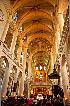 Church Saint-Etienne-du-Mont, Paris, France.