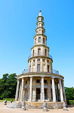Chanteloup Pagoda, Amboise, Loire Valley, France.