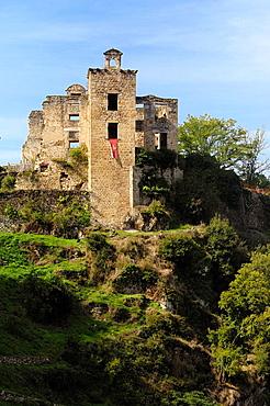 Castle, Saint Martin Laguepie, Tarn, Midi Pyrenees, France.