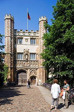 Cambridge, Trinity College, Cambridgeshire, England.