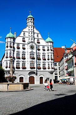 Historic City Hall in Memmingen