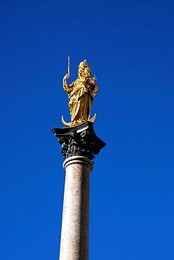 Marian column in Munich