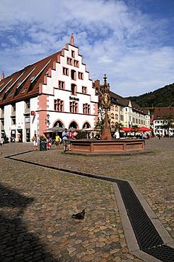 Cathedral Square in Freiburg im Breisgau