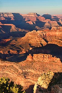 sunset at Hopi Point, Grand Canyon National Park, Arizona.