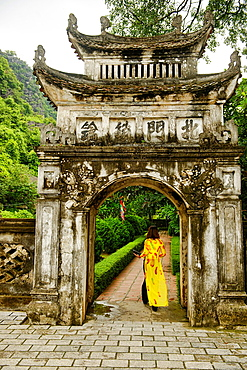 The ancient historic capital of Ho Lua near Ninh Binh, Vietnam.