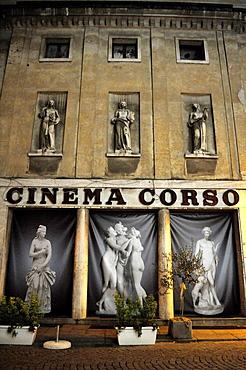 Vicenza, Italy, Cinema Corso