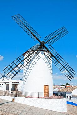 Windmill. Campo de Criptana, Ciudad Real province, Castilla La Mancha, Spain.