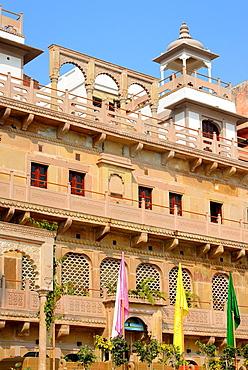 India, Uttar Pradesh, Varanasi, Jukaso Ganges Hotel.