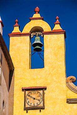 Parroquia de Santiago.Parish of Santiago. Queretaro. Mexico