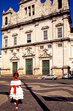 catedral basilica, salvador, bahia, brazil, south america.