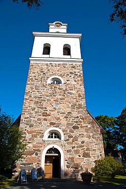 Rauman Pyha§n Kristin kirkko the Church of the Holy Cross (1520) central Rauma western Finland northern Europe.