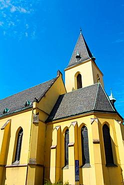 Sv Kliment church nove mesto new town Prague Czech Republic Europe.