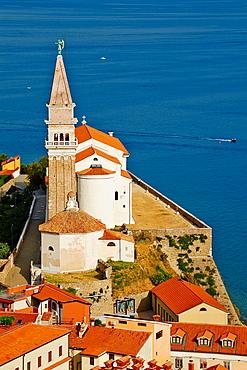 Slovenia, Primorska region, Adriatic Coast, Piran.