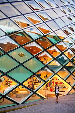 Prada Store, Architect Herzog & De Meuron.Aoyama.Tokyo.Japan.
