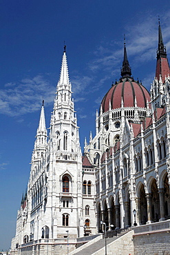 Hungarian Parliament House, Budapest, Hungary.