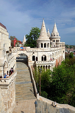 Fisherman's Bastions, Budapest, Hungary.