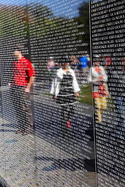 Vietnam Veterans Memorial, Washington D.C., USA.