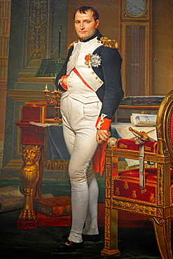Emperor Napoleon by Jacques-Louis David, National Gallery of Art, Washington D.C., USA.