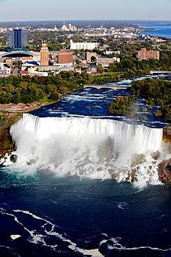 Niagara Falls seen from Ontario, Canada.