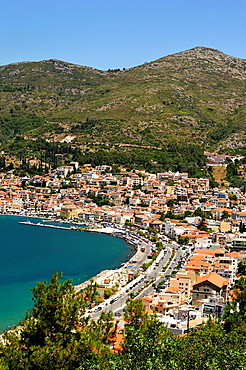 Samos Town, Samos Island, Greece.