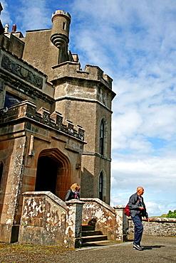 Dunvegan Castle, Isle of Skye, Highland, Scotland, UK