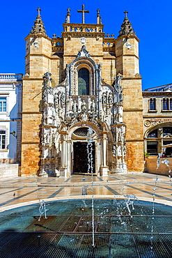 Santa Cruz Monastery, Coimbra old city, Beira Province, Portugal, Unesco World Heritage Site.