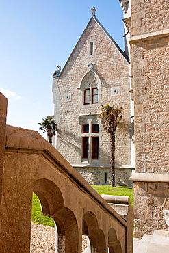 Abbadie Castle, Hendaye, Basque Country.