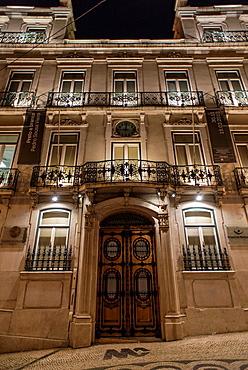 Ferreira Pinto Basto Palace in Chiado, Lisbon, Portugal.