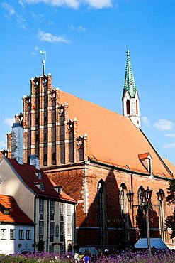St.John Church, Riga, Latvia.