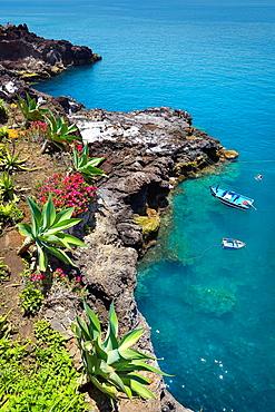 Seashore near Camara de Lobos, Madeira, Portugal.
