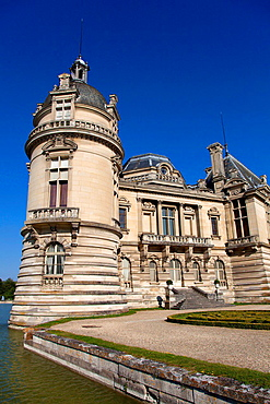 Chantilly castle, Picardie, France.